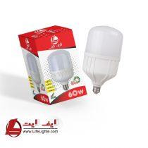 لامپ حبابی 60w لایف لایت