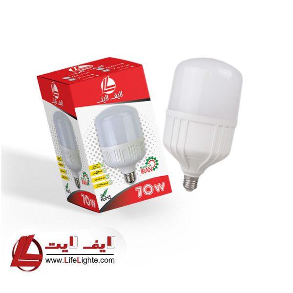 لامپ حبابی 70w لایف لایت